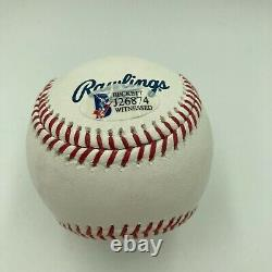 Vin Scully Signed Official Major League Hall Of Fame Baseball With Beckett COA