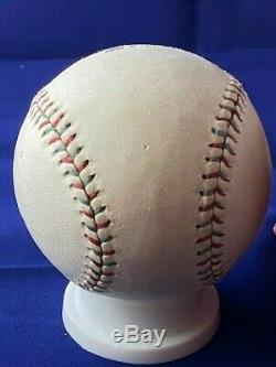 Vintage 1910-1920s Spalding Cork Center Official League Baseball with Box
