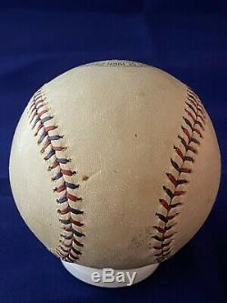 Vintage 1920's 30's Rawlings Official League Baseball 27 Innings Red/Black