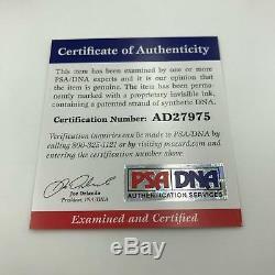 Vintage 1970's Hank Aaron Signed Official League Baseball PSA DNA COA