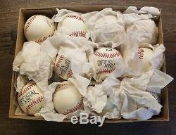 Vintage 1 Dozen Official League Nbc Baseballs Nos