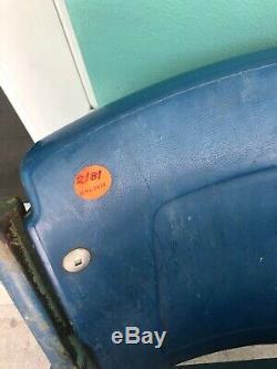 Vintage Official Detroit Tigers Stadium Seats 7, 8 Major League Baseball