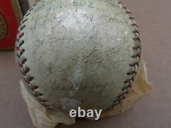 Vintage Reach Official American League Ball 32 Detroit Tigers Signed JoJo White