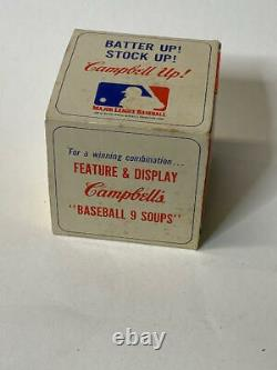 Vintage Reach Official American League Baseball (Cronin) with Campbells Soup Ad