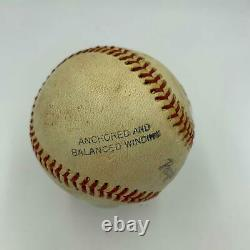 Vintage Sandy Koufax Signed Official Minor League Baseball With PSA DNA COA