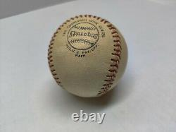 Vintage Spalding Feeney Official National League Baseball Stamped Haiti Rare