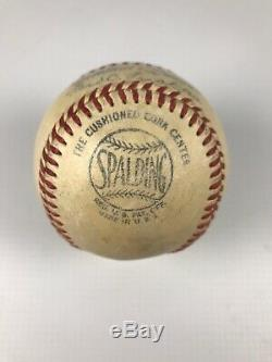 Vintage Spalding Ford Frick Official National League Baseball