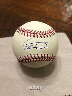 Vladimir Guerrero Jr Signed Official Major League Baseball Beckett BAS Coa Auto