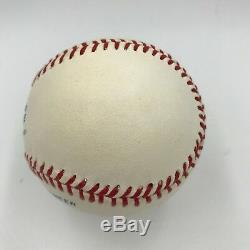 Whitey Ford Signed Autographed Official American League Baseball PSA DNA COA