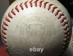 William Harridge Official 1951 vintage American League Baseball multi signed