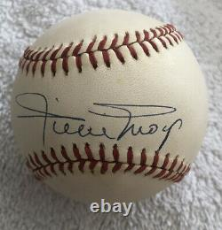 Willie Mays Autograph Signed Rawlings Official National League Baseball Giants