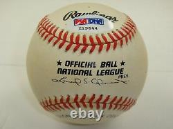 Willie Mays Psa/dna Signed Official National League Baseball Autograph Z19644