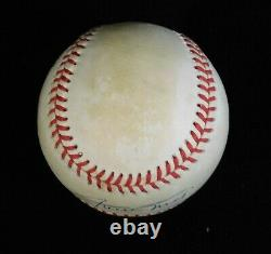 Willie Mays SF Giants Signed Official National League Baseball JSA Authenticated