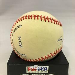 Willie Mays Signed Autographed Official National League Baseball Psa Dna #x90599