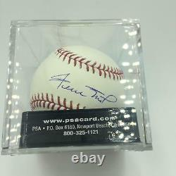 Willie Mays Signed Official Major League Baseball PSA DNA Graded Mint 9