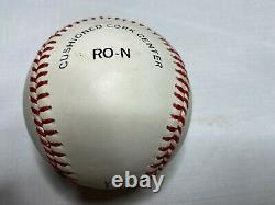 Willie Mays Signed Rawlings Official National League Baseball