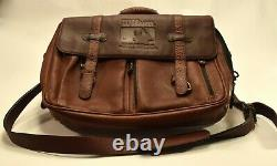 Wilson Official Major League Baseball Leather Laptop Bag/Briefcase RARE! NICE