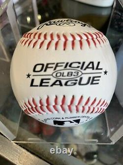 Yankees Derek Jeter Signed Autograph Official League Baseball Ball HOF LOA/COA