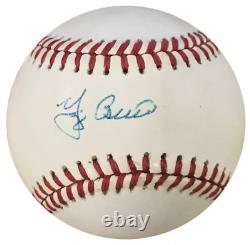 Yogi Berra Autographed Official American League Baseball