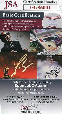 Yogi Berra MVP 51-54-55 Autographed Official American League Baseball (JSA)