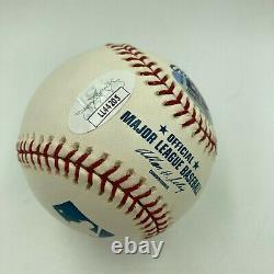 Yogi Berra Signed Autographed Official Major League Baseball JSA COA
