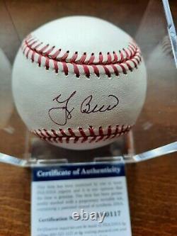 Yogi Berra Signed Official Major League Baseball OMLB Autographed Auto PSA/DNA