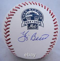 Yogi Berra Signed Official SHEA STADIUM Major League Baseball JSA