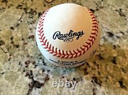 Zack Greinke 23 Signed Official Major League Baseball With COA, Royals, Cy Young